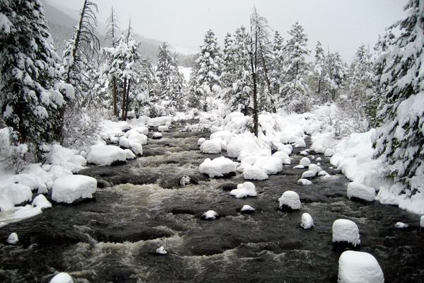 Popo Agie River, Sinks Canyon, Wyoming